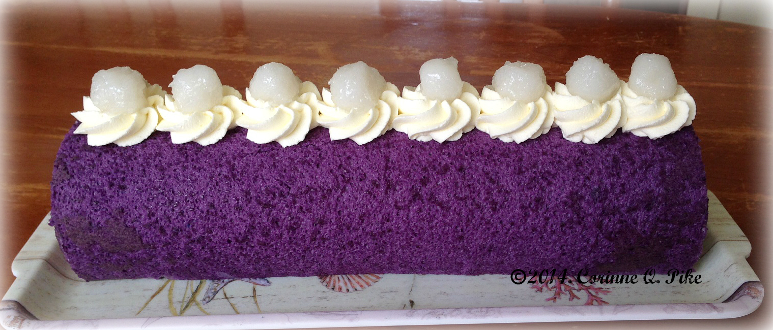 how to cook ube cake