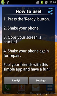 Crack Your Screen