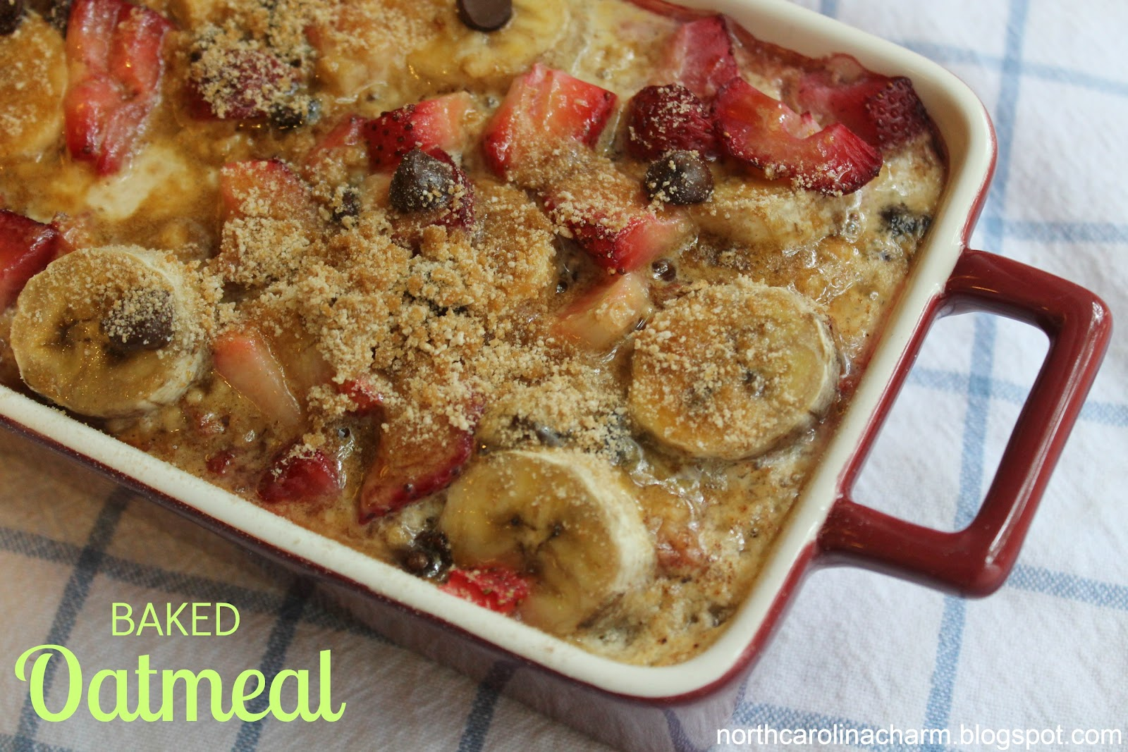 Baked Oatmeal Delight
