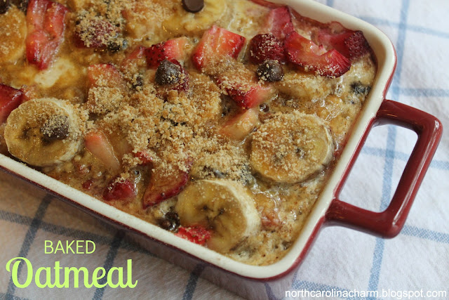 Carolina Charm: Baked Oatmeal Delight