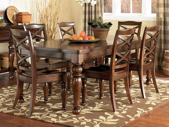 Ashley Furniture Porter Dining Room Set Design