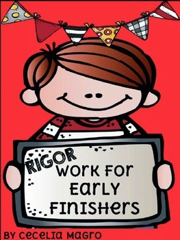 http://www.teacherspayteachers.com/Product/Rigor-Work-for-Early-Finishers-1st-Grade-1323462