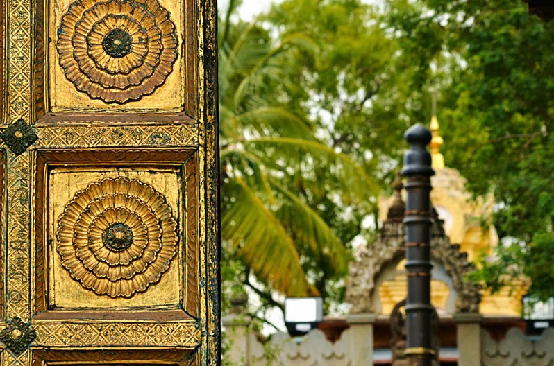 The entrance door of Shweta Varahaswamy temple at Mysore Palace (Photo - Jim Ankan Deka) | 2013