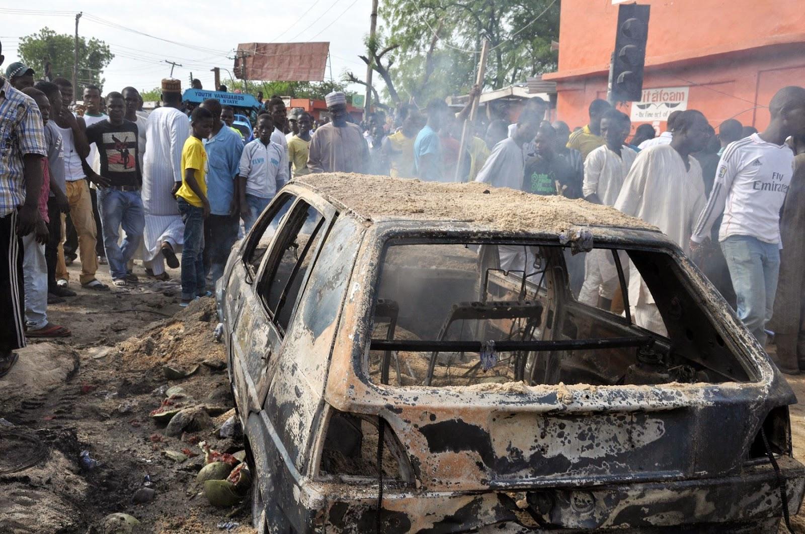 Image result for 27 killed, 83 wounded as Boko Haram attacks Konguda market