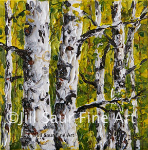aspen art galleries, trees in art, tree art