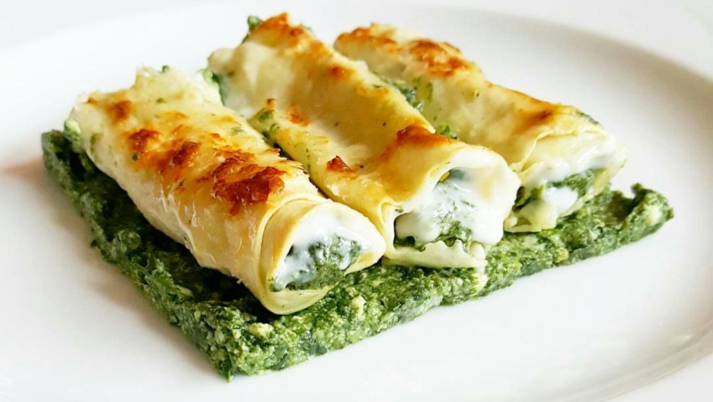 Gialla tra i fornelli cannelloni ricotta e spinaci da for Cucinare spinaci
