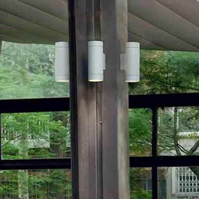 Lamparas g iluminacion y dise o apliques led para - Apliques solares exterior ...