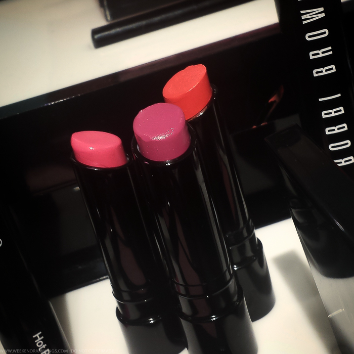 Bobbi Brown Kate Upton Hot Sheer Lip Color Lipsticks Pink Berry Orange Spring 2015 Makeup Collection Photos
