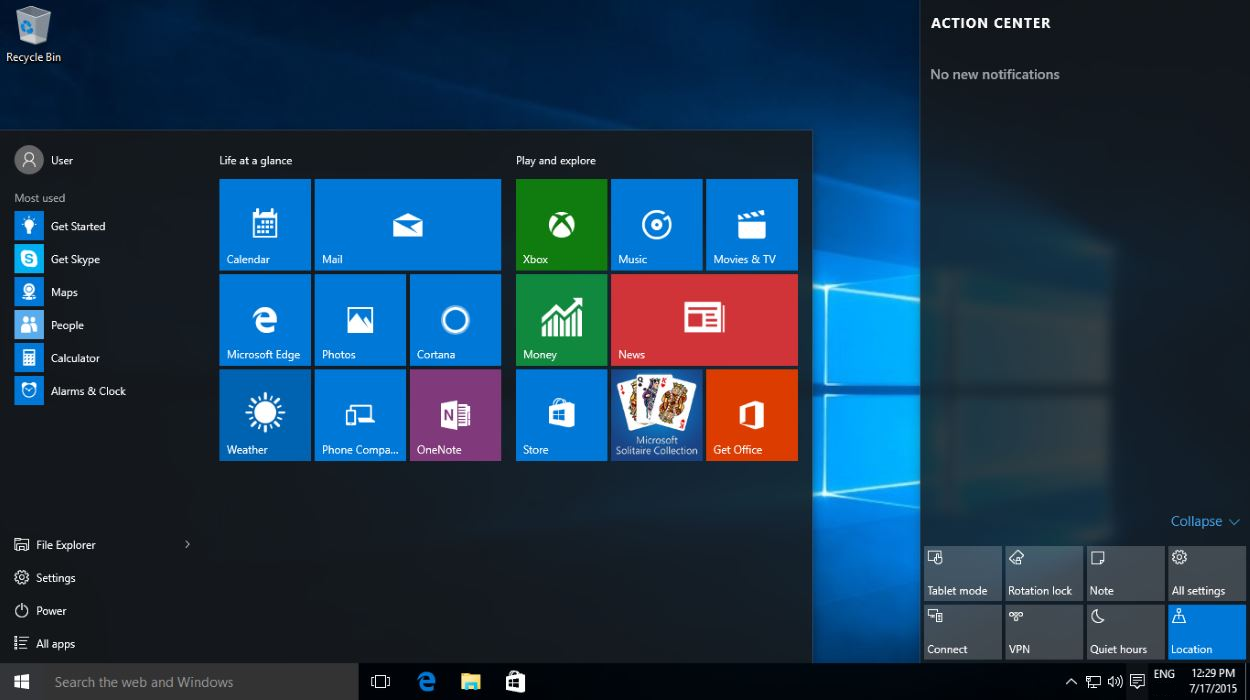 Windows 10 aio publicity privacy performance geek dave if you find windows 10 build 10240 in winverrun command its final verson now check weather its permanently activated or not by typing this command in ccuart Images