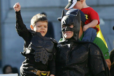 "Review of the documentary, ""Batkid Begins."""