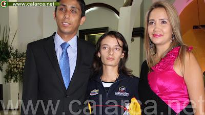 Reconocimiento Especial a la atleta Sandra Lorena Arenas, por parte del Concejo Municipal