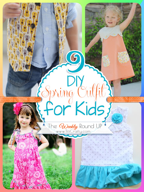 Top 4 Diy spring outfits for kids