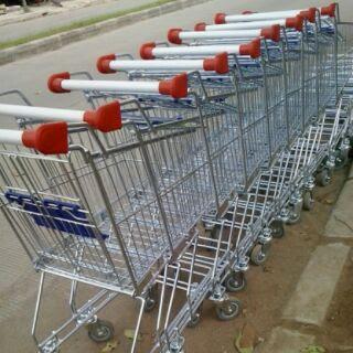 Trolley atau keranjang belanja