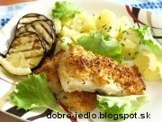 Morská šťuka s baklažánom - recept