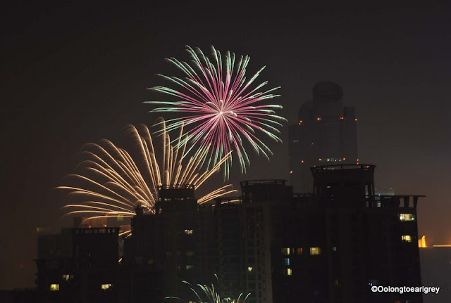 Chinese New Year Fireworks, Shanghai, China