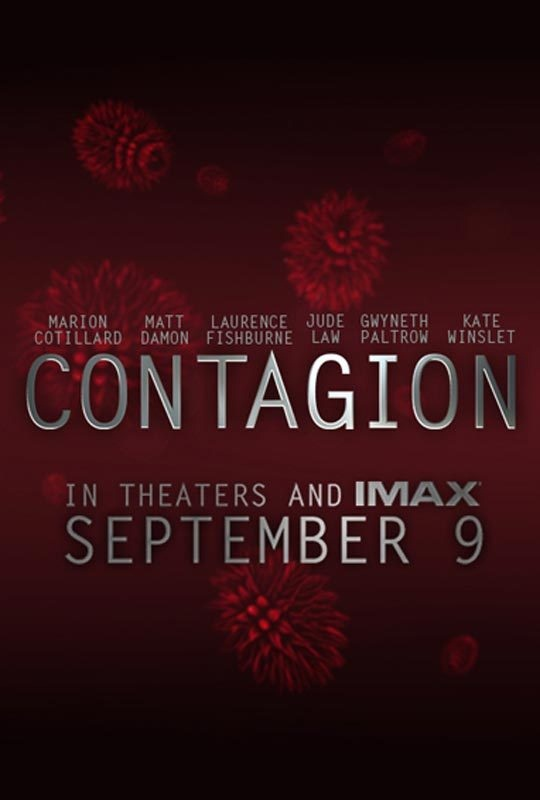 Contagion movie posters
