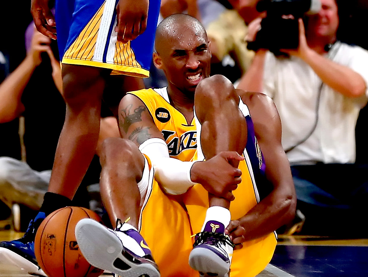 Kobe Bryant Torn Achilles tendon (Injury)