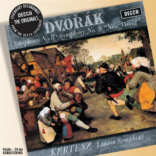 Antonin Dvorak Symphony no.9 New World Symphony Kertesz London Symphony Orchestra