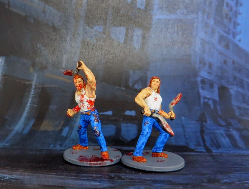 Mack, car, Salesman, Survivor, Zombivore, Zombicide, painted, kukri