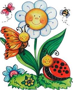 dibujos de la primavera