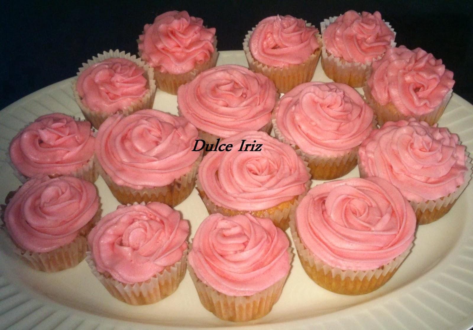 cupcake de chicle - dulce iriz