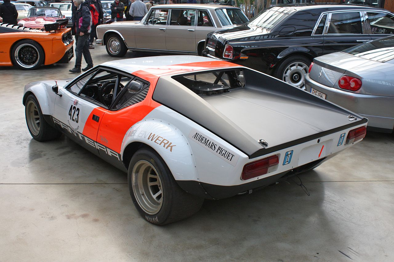 Fab Wheels Digest F W D De Tomaso Pantera 1971 91