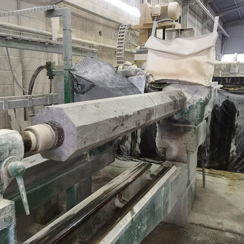 Artesan a del m rmol fabricaci n a medida de columnas en for Material parecido al marmol