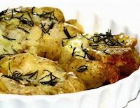 Batatas ao Murro (vegana)