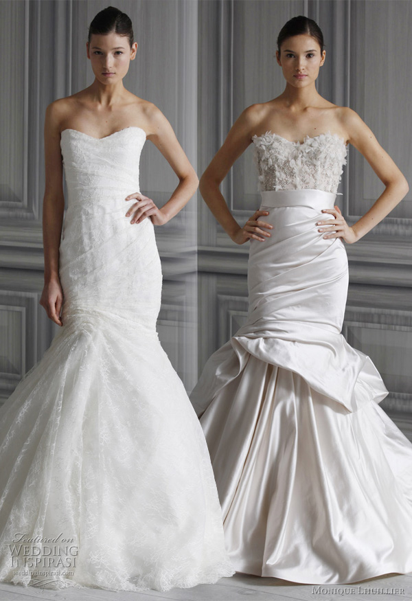 Monique Lhuillier 2012 Spring Wedding Dresses Collection