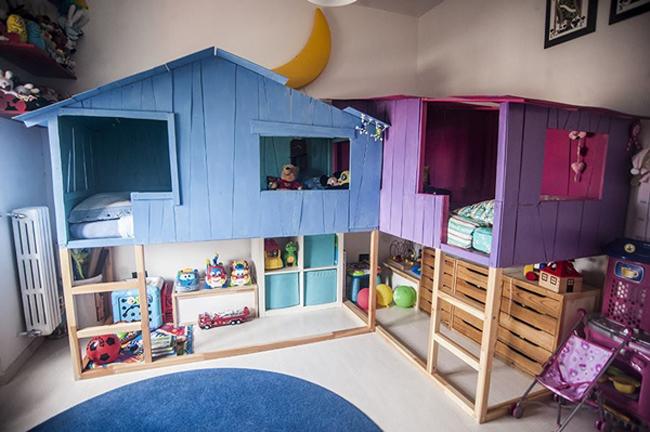 Mcompany style m deco ideas con la cama kura de ikea - Ikea infantil dormitorios ...