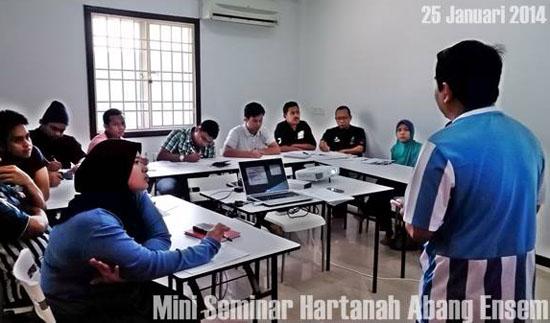 Seminar oleh AbangEnsem.com - Murah dan Berbaloi 2014