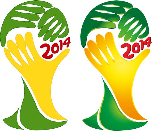 Logo de la copa Brasil 2014 -2 - Vector