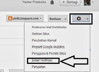 cara verifikasi blog ke google
