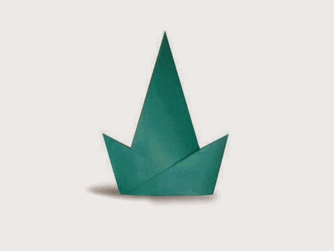 Hướng dẫn cách gấp mũ sinh nhật bằng giấy đơn giản - Xếp hình Origami với Video clip - How to make a party hat
