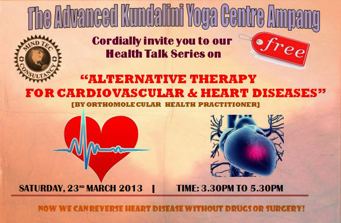 Invitation to a free health talk on alternative therapy for invitation to a free health talk on alternative therapy for cardiovascular heart diseases come along as our guest on saturday 23rd march 2013 for an stopboris Gallery