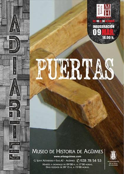 """""""Puertas"""" en el Museo de Historia de Agüimes"""