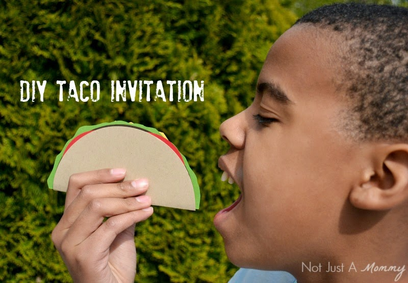 The Party Hop: Summer Fiesta Taco Invitation
