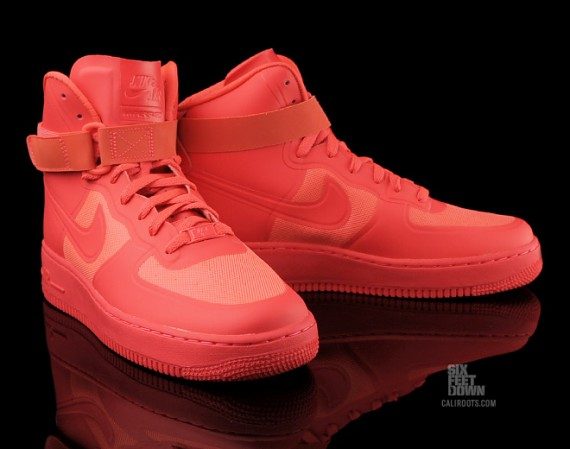 the sneaker addict nike air force 1 high hyperfuse solar. Black Bedroom Furniture Sets. Home Design Ideas