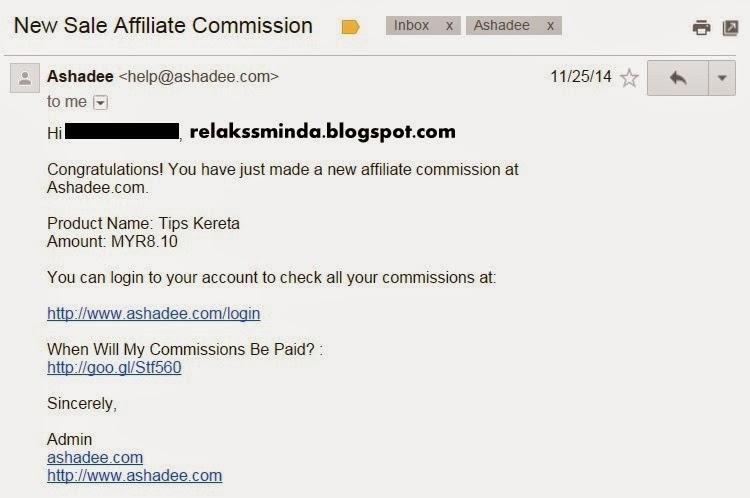 Benarkah Affiliate Mampu Menjana Pendapatan Buat Blogger?