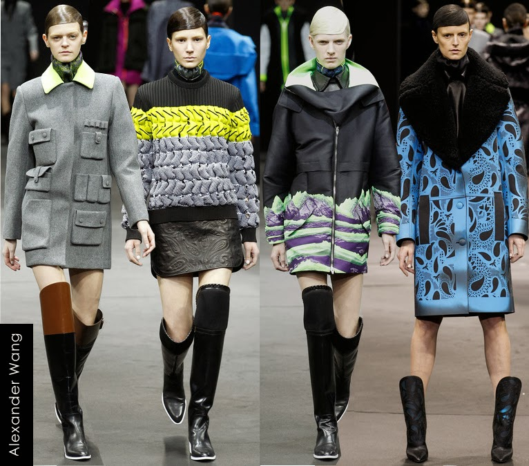 alexander wang womens fall 2014