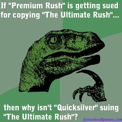 Premium Rush Ultimate Rush Quicksilver Philosoraptor