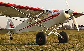 Kathryn's Report: Piper Super Cub Airplane Flight Club ...