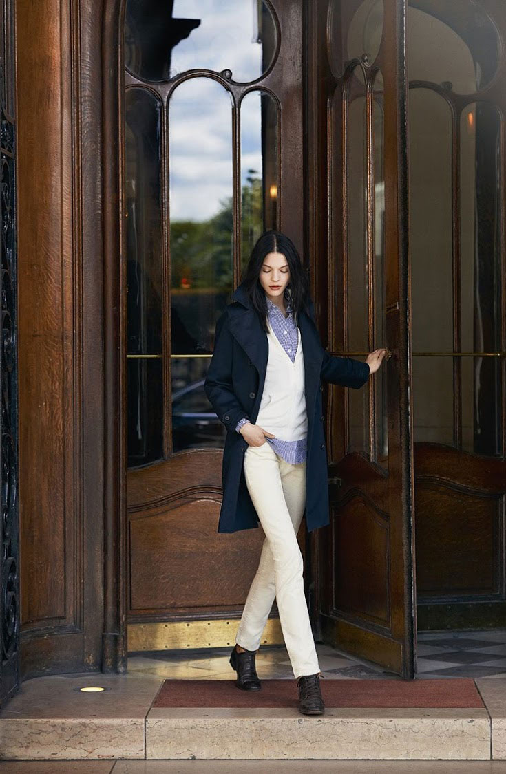 Ines de la Fressange pour Uniqlo Autumn/Winter 2014/15 collection | How to look like a Parisian | French style tips