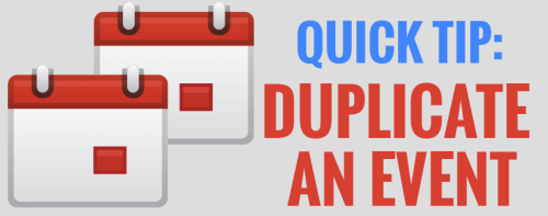 Duplicate Google Plus Event