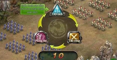 Hệ thống chiến thuật đặc sắc của Công Thành Xưng Đế