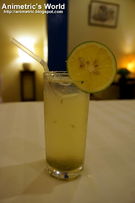 Lime Cooler at H Cuisine