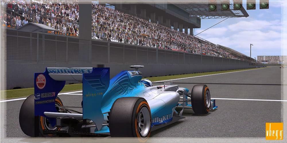 Formula-1 Szentliga, Szentliga, BlueBird Racing, Koreai Nagydíj, szimulátorbajnokság, sport, F1,