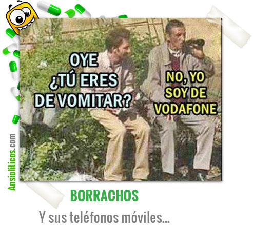 Chiste de Borrachos: Movistar o Vodafone