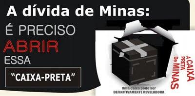 caixa preta de Minas Aecio anastasia azeredo