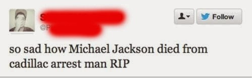 How sad that Michael Jackson d from Cadillac Arrest - Dr. Heckle